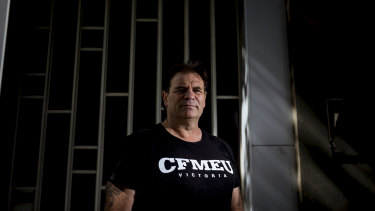Current CFMEU state secretary John Setka has said construction should go ahead despite the pandemic.
