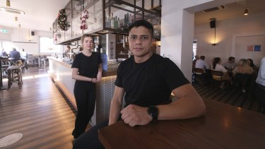 Ruben Rodriquez and Maddie Harvey found it near impossible to find work during the pandemic. Then the pubs opened.