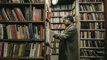 Deepak Chopra, the alternative medicine and New Agemegastar, browses through books at the Strand in New York last year.