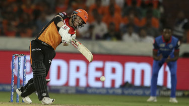 Returning batsman David Warner has been in solid touch in the Indian Premier League.