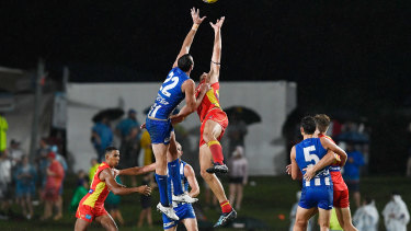 AFL action in Cairns
