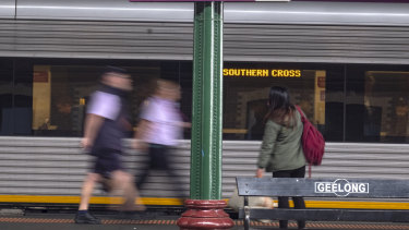 Geelong train trips have doubled in five years.