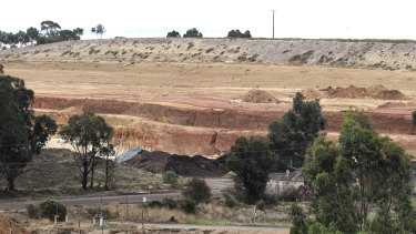 Maddingley Brown Coal in Bacchus Marsh was one of the landfill sites approved to take soil from the West Gate Tunnel.
