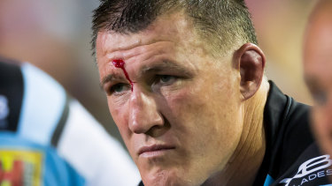Paul Gallen and the Sharks had a tough year on-field.
