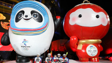 Beijing's mascots for the 2022 Winter Games.