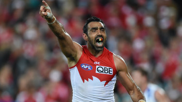 Adam Goodes chose to end his career without a victory lap, creating a powerfully poignant moment.