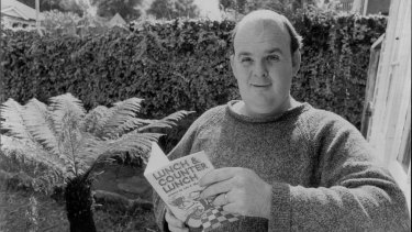 Les Murray at his Chatswood home in 1976.