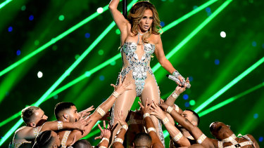 Jennifer Lopez upset the tabloid moralists with her performance at the Super Bowl.