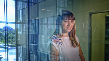 """Genetic counsellor Samantha Ayres at the Royal Children""""s Hospital in Melbourne."""