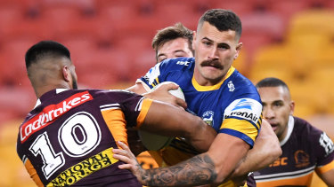 Reagan Campbell-Gillard has been a powerhouse for the Eels this season.