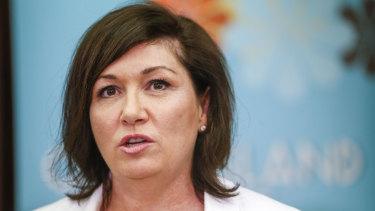 Queensland's Environment Minister Leeanne Enoch