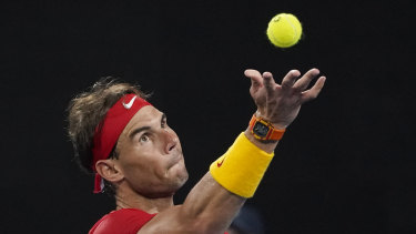 Nadal will not back up for Spain in the decisive doubles rubber.