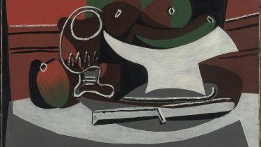 Pablo Picasso, Still life (Nature mort), 1924.