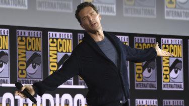 Benedict Cumberbatch talks Doctor Strange at Comic-Con.
