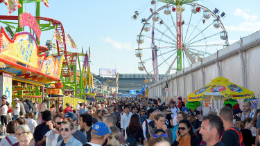 Despite construction and preparation being put on hold, the Ekka is still due to start on August 7.