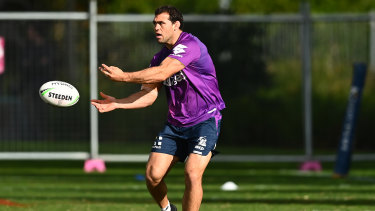 Dale Finucane and his Storm teammates are going to have to get used to their Queensland surrounds.