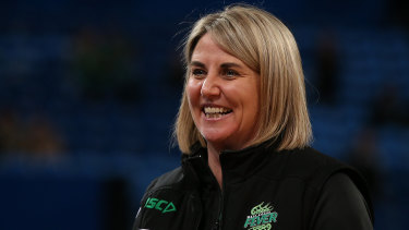 Stacey Marinkovich, coach of West Coast Fever, and now in charge of the national netball team, the Diamonds.