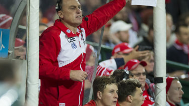John Longmire is non-committal over his coaching future but the Swans are confident he will stay.