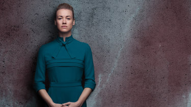 Australian actor Yvonne Strahovski was nominated for her turn in The Handmaid's Tale.