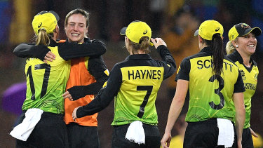 Ellyse Perry faces six months out with a hamstring injury.