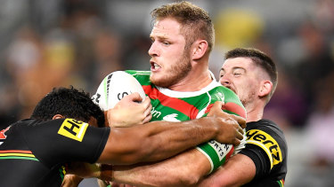Tom Burgess has been immense for the Rabbitohs in 2021.