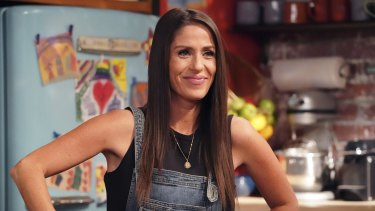 Soleil Moon Frye as Punky Brewster in the revival of Punky Brewster.