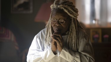 Whoopi Goldberg as Mother Abigail  in The Stand.