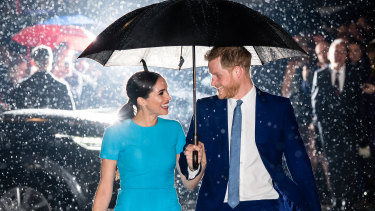 Prince Harry and Meghan are living in the United States following their effective separation from the royal family.