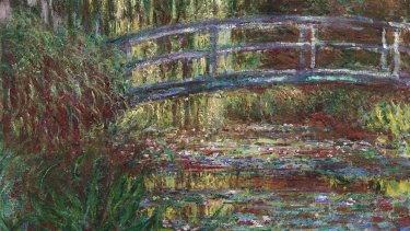 Claude Monet's The Water Lily Pond (1900).