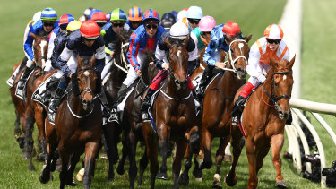 Last year's Melbourne Cup is the largest gambling day for bookies, but that could be overtaken by the US election.