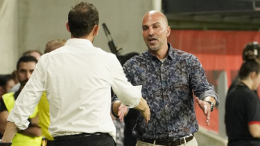 'I'm a fighter': Markus Babbel says he'll resist calls for the end of his tenure at Wanderers.