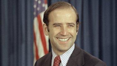 Joe Biden in 1972, then the newly-elected Democratic senator from Delaware.