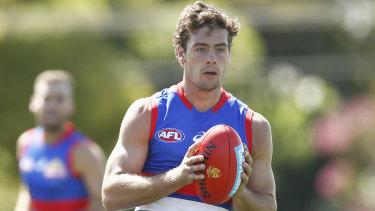 Western Bulldogs midfielder Josh Dunkley will miss most of the AFL season.