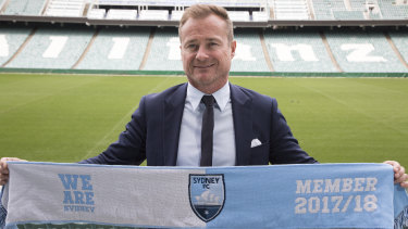 Sydney FC chief executive Danny Townsend.