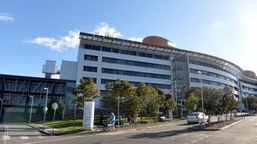 Fifteen ambulances were lined up outside Brisbane's Princess Alexandra Hospital on Monday night.