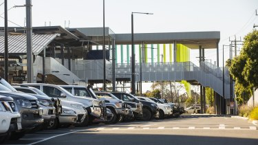 Ringwood railway station car park in the Melbourne seat of Deakin - planning is still ongoing for an upgrade that was promised at the 2019 election.