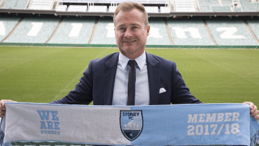 Sydney FC chief executive Danny Townsend said the curtain was the number one top priority for the rebuild.