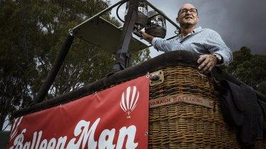 Balloon Man chief pilot Chris Shorten said a voucher scheme to drum up Melbourne tourism was sorely needed.