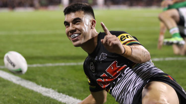 The next great fullback? Andrew Johns is predicting big things from Charlie Staines.