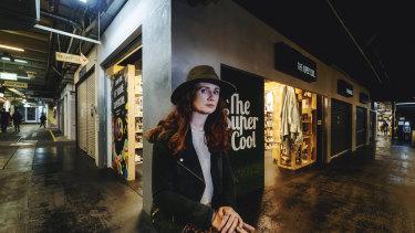 TheSuperCool store  owner Kate Vandermeer