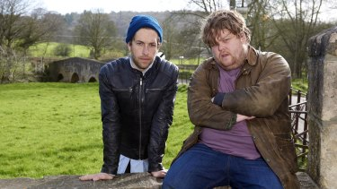 Dylan Edwards and Danny Kirrane star in Wasted.