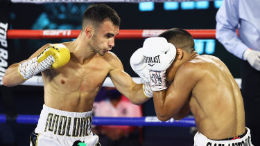 Andrew Moloney believes he should have won the last fight against Joshua Franco.