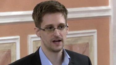 Whistleblower Edward Snowden.