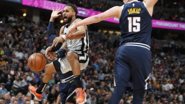 Patty Mills' defence was inspirational in game seven.