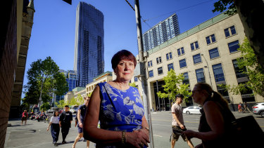 Dame Judith Hackitt in Melbourne on Monday.