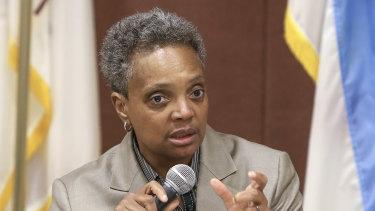 Mayor-elect Lori Lightfoot.