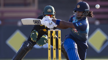 In the runs: Sri Lanka's Chamari Atapattu.