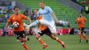 Melbourne's City Ritchie De Laet scored the winner on Friday night.