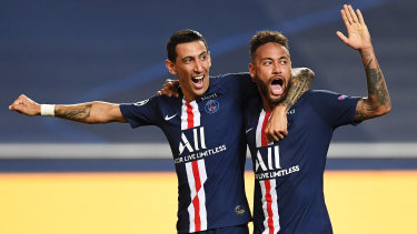PSG stars Angel Di Maria and Neymar will soon be seen on Sports Flick after the little known streaming service secured the rights to broadcast the UEFA Champions League in Australia.