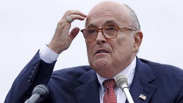 Rudy Giuliani, an attorney for President Donald Trump.